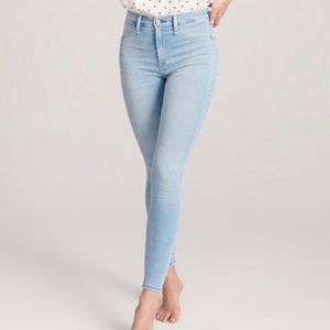 Abercrombie high rise leggings jeans